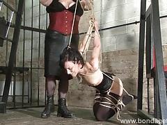 Kinky elise graves lesbian bondage tubes