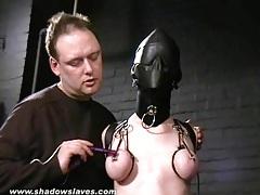 Sensory deprived slaveslut cherry torn tubes