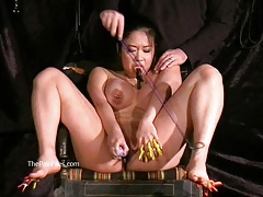Tigerrs asian bdsm and oriental tit tortures tubes