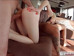 Amazing cocksucker and fuck slut in a tight dress tubes