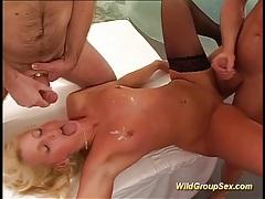 Best anal and deepthroat gangbang ever tubes