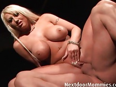 Bimbo milf is a balls deep cock whore tubes