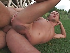 Black top eats out that asshole with passion tubes