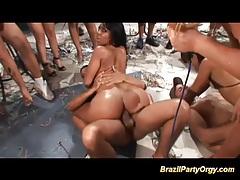 Brazilian party orgy tubes