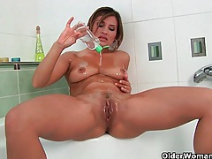 Sexy short haired milfs take matters into their own hands tubes