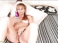 Mama takes her panties off so she can masturbate tubes