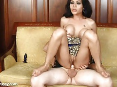 Hard dick fucks her sexy post op asian pussy tubes