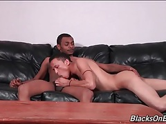 Cute latino twink blows a sexy black dick tubes