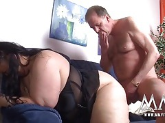 Fingered bbw fucked in her juicy pussy tubes