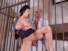 Prisoner pounds cock into busty slut patty michova tubes