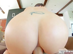Truly gorgeous girl fucked up the butt by a hard dick tubes