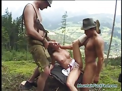 Extreme threesome in nature tubes