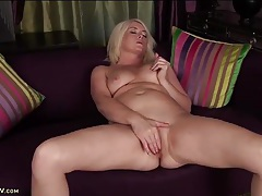 Big butt mature babe amber jewell masturbates tubes