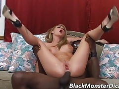 Black dick in the slutty asshole of a white girl tubes