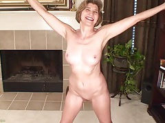 Fit and chatty mature is proud of her amazing body tubes