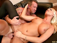 Gorgeous milf diana doll fucked in stockings tubes