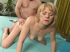 Mature blonde fucked by her husband tubes