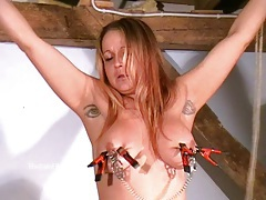 Busty amateur bdsm of crazy painslut tubes