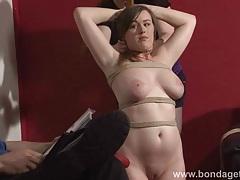 Lesbian livingroom bondage tubes