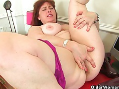 British milfs janey and jessica stripping off and playing tubes