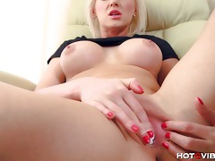 Bleach blonde sultry czech tubes