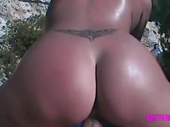 Pov beach sex with a tramp stamp slut tubes