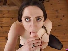 Pov dirty talk blowjob from a pornstar tubes
