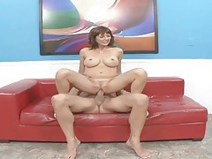 Hugely thick cock pleasures a cuckold wife tubes