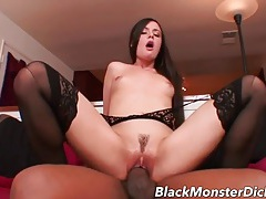 Beauty brings a black dick home for good fucking tubes