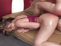 Fat red oiled up ass on this hardcore hottie tubes