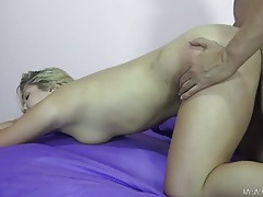 Hot view of a round ass fucked by a stiff cock tubes