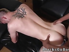 Dick sucking white boy fucked by a black man tubes